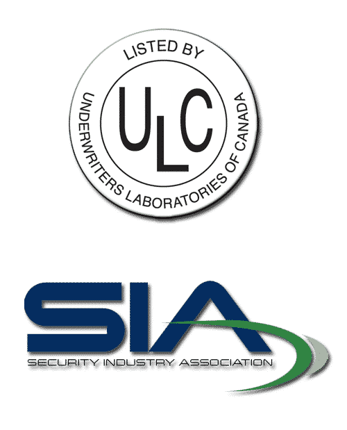 ULC & SIA credentials