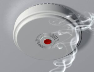Activating a smoke alarm